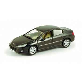 Peugeot 407 berline noire obsidien Norev 474704