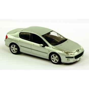 Peugeot 407 gris aluminium Norev 474700