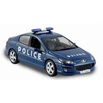 Peugeot 407 police banlieue 13 Norev 474740