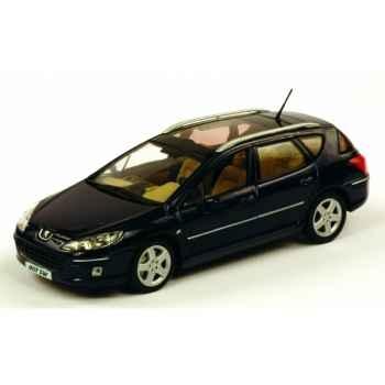Peugeot 407 sw bleu de chine Norev 474750