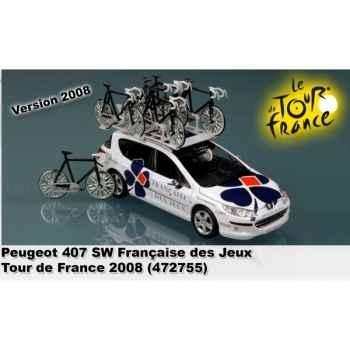 Peugeot 407 sw française des jeux tour de france 2008  Norev 472755