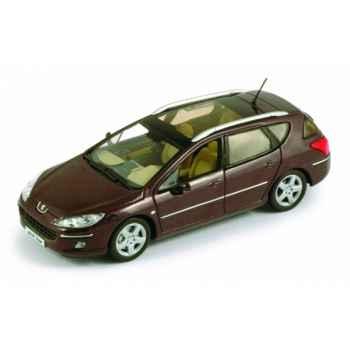 Peugeot 407 sw prune montecristo Norev 474753