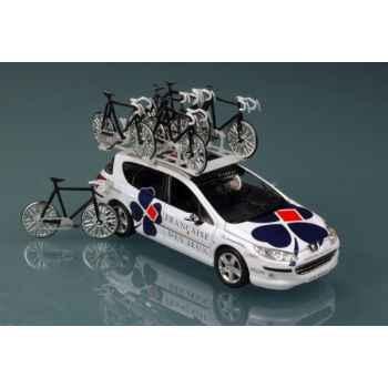 Peugeot 407sw française des jeux tour de france Norev 472754