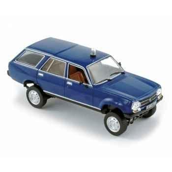 Peugeot 504 break dangel gendarmerie  1979   Norev 475424