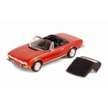 Peugeot 504 cabriolet rouge Norev 475420