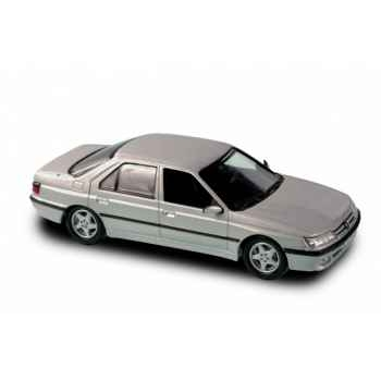 Peugeot 605 gris quartz 1998 Norev 476500