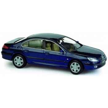 Peugeot 607 bleu de chine Norev 476706