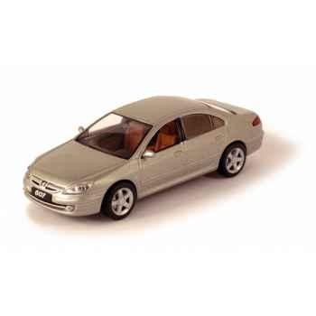 Peugeot 607 restylée gris cendré Norev 476752