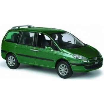 Peugeot 807 vert intensive Norev 478702