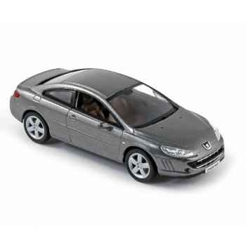 Peugeot coupé 407 2008 moondust grey Norev 474774