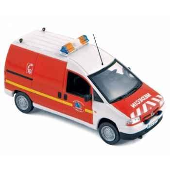 Peugeot expert 2001 pompiers vrm  Norev 479839
