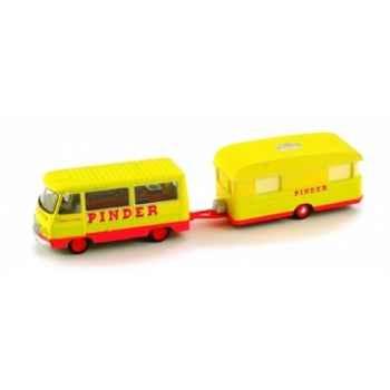 Peugeot j7 pinder avec caravane Norev 472093