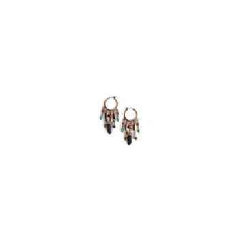 Joyaux de la couronne-Boucle d'oreille créoles twist encrés-botwcenc