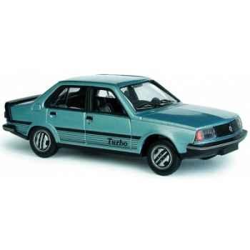 R18 turbo bleu m?tal 1981 Norev 511808