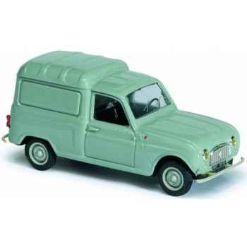 R4 fourgonnette f4 1965 vert Norev 511001