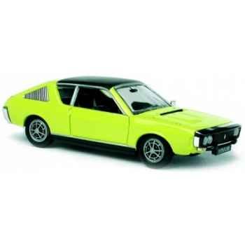 Renault 17 ts 1974 jaune Norev 511706