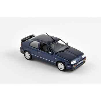 Renault 19 3p 16s phase 1 bleu foncé 1989  Norev 511905
