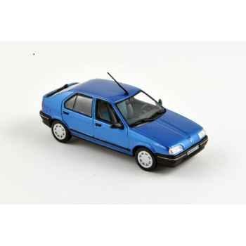 Renault 19 5p bleu 1988 Norev 511900