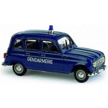 Renault 4 gendarmerie 1968 Norev 510023