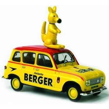 Renault 4l berger kangourou Norev 510027