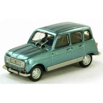 Renault 4l bleu orage Norev 510001