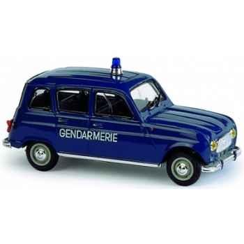 Renault 4l gendarmerie Norev 510016