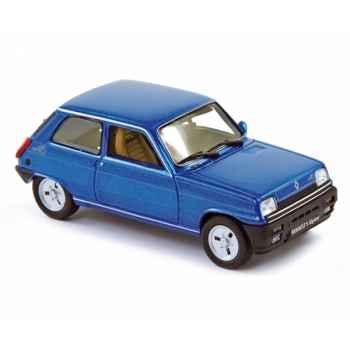Renault 5 alpine bleue  Norev 510512