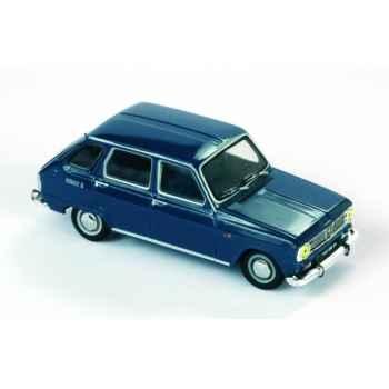 Renault 6 bleu métalisé Norev 510610