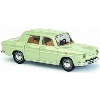 Renault 8 gris blanc valois Norev 512000