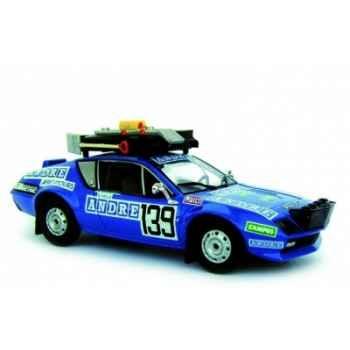 Renault alpine a310 dakar 1981 n°139 t.reverchon - g.vails  Norev 517812