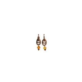 Joyaux de la couronne-Boucles d'oreille baroque lys-bobarlys