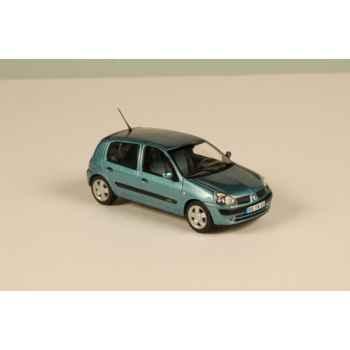 Renault clio bleu 2002 Norev 517518