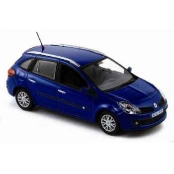 Renault clio estate 2007 bleu extrême  Norev 517580