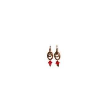 Joyaux de la couronne-Boucles d'oreille baroque rubis-bobarrub