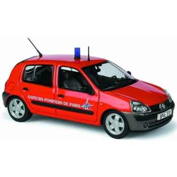 Renault clio pompier de paris Norev 517506