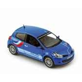 renault clio rs 2007 police norev 517540