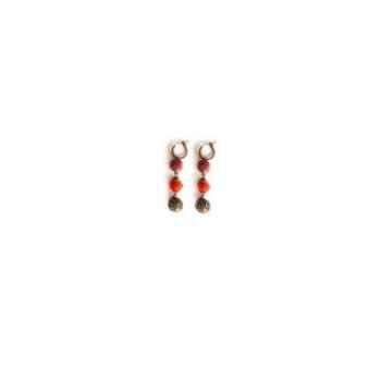 Joyaux de la couronne-Boucles d'oreille créoles 2 feutre/filigrane capiteux-bocffcap
