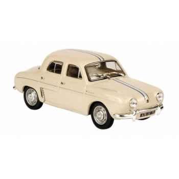 Renault dauphine 1093 beige avec bandes bleues Norev 513099