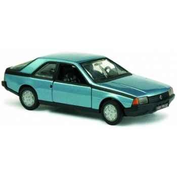 Renault fuego gts bleu métal Norev 518102