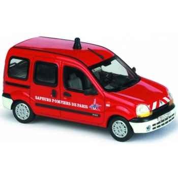 Renault kangoo vitré pompier de paris Norev 511353