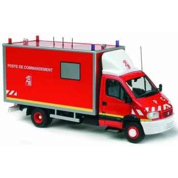 Renault mascott pompier poste de commandement Norev 518417