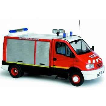 Renault mascott pompier secours routier Norev 518416