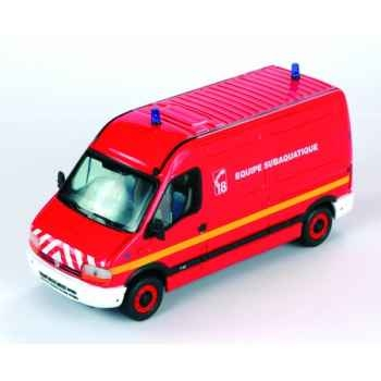 Renault master pompier équipe subaquatique Norev 518701