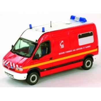 Renault master pompier vsab phase 1 Norev 518700