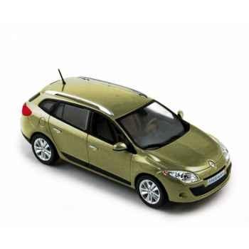 Renault mégane estate 2009 cendré beige Norev 517640