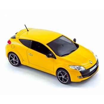 Renault mégane rs 2009 yellow Norev 517710
