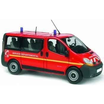 Renault trafic pompier vitré service départemental Norev 518052