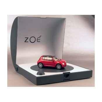 Renault zoe concept car rouge Norev 517999