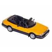 saab 900 turbo 16 s cabriolet 1991 monte carlo yellow norev 810040