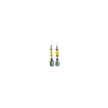 Joyaux de la couronne-Boucle d'oreille tagua fresques-botagfre